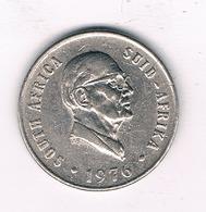 10 CENTS 1976 ZUID AFRIKA /2939/ - Afrique Du Sud