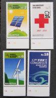ILE MAURICE - MAURITIUS - 2013 - YT 1169 à 1172 ** - ANNIVERSAIRES ET EVENEMENTS - Mauritius (1968-...)