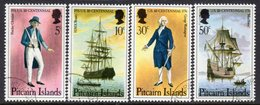 Pitcairn QEII 1976 Bicentenary Of US Revolution Set Of 4, Used, SG 167/70 - Stamps