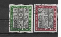 BRDMi.nr.139-40 O/ (1951) Marienkirche - Gebraucht