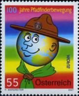 Ref. 203615 * NEW *  - AUSTRIA . 2007. EUROPA CEPT. 100 YEARS OF SCOUTING. EUROPA CEPT. 100 A�OS DE ESCULTISMO - 1945-.... 2ª República