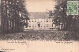 Environs De Turnhout Château De Corsendonck 1909 (zegel Op Voorzijde , Verzonden Naar Indochine Saigon - Tanan) - Turnhout