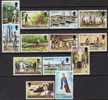 Pitcairn QEII 1977-81 Definitives Set Of 13, Used, SG 174/84 - Pitcairn
