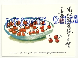 Cerises. Le Coeur Va Plus Loin Que L'esprit. Luo Xiao Hua. Editions Cartes D'Art - Cartes Postales