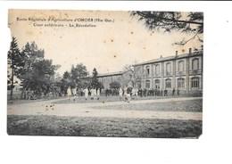 École Régionale D'Agriculture D'ONDES. Cour Extérieure -La Récréation. - France