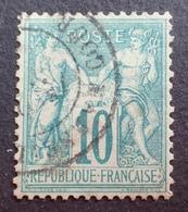 DF50478/418 - SAGE TYPE I N°65 - CàD De MARSEILLE Cours Du Chapitre - TRES BON CENTRAGE - 1876-1878 Sage (Type I)
