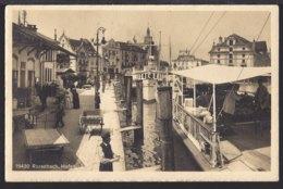 Rorschach Hafen - Dampfschiff - Sehr Belebt - 1914 - SG St. Gallen