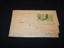 Australia 1921 Melbourne Part Of Wrapper__(L-25391) - Postal Stationery