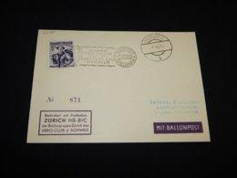 Austria 1952 Siezenheim Ballonpost Card__(L-25190) - 1945-.... 2. Republik