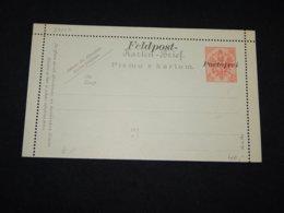 Bosnia Hertsegovina 10h Red Portofrei Overprint Unused Stationery Card__(L-28017) - Bosnie-Herzegovine