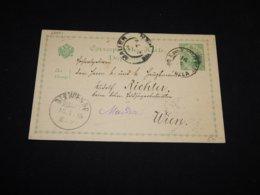 Bosnia Hertsegovina 1905 Mauer 5h Green Stationery Card__(L-28051) - Bosnien-Herzegowina