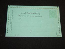 Bosnia Hertsegovina 3h Green Unused Stationery Card__(L-28048) - Bosnie-Herzegovine