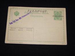 Bosnia Hertsegovina 5h Green Portofrei Overprint Unused Stationery Card__(L-28018) - Bosnie-Herzegovine