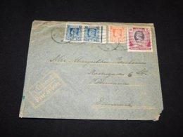 Burma 1946 Air Mail Cover To Denmark__(L-24173) - Burma (...-1947)