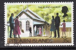 Pitcairn QEII 1977-81 Definitives 35c Value, Wmk. Inverted, Used, SG 181w - Stamps