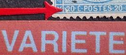 R1917/116 - CERES N°37 - GC 456 : BESANCON (Doubs) - VARIETE ➤➤➤ Triangle Blanc Devant Le 20c Gauche - 1870 Siege Of Paris