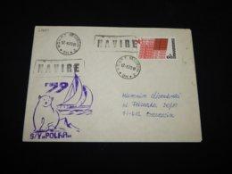 Czechoslovakia 1979 Szczecin S/Y Polka Navire Cover__(L-27684) - Czechoslovakia