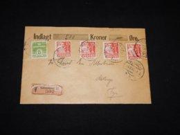 Denmark 1932 Köbenhavn Insured Cover To Fyn__(L-28715) - Brieven En Documenten