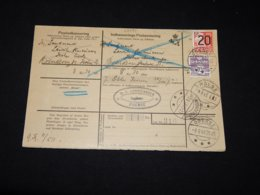 Denmark 1940 Brenderup Parcel Card__(L-28494) - 1913-47 (Christian X)