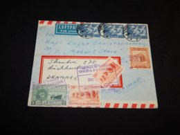 Denmark 1945 Air Mail Cover To Venezuela__(L-25357) - Airmail