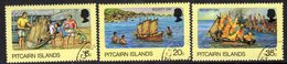 Pitcairn QEII 1978 'Bounty Day' Set Of 3, Used, SG 185/7 - Stamps