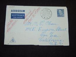 Denmark 1960 Århus Aerogramme To USA__(L-28345) - Denemarken