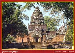 1 AK Cambodia Kambodscha * Der Tempel Prasat Samrei * - Kambodscha