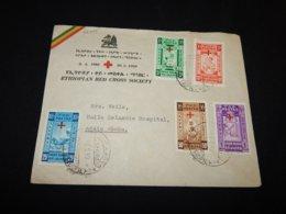 Ethiopia 1950 Red Cross FDC__(L-25395) - Ethiopia