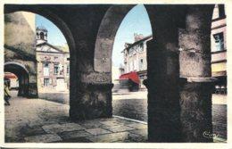CPA - TOURNUS - ARCADES DE LA PLACE DE LA MAIRIE - France