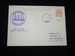 Finland 1973 Mariehamn Pommern Stationery Card__(L-27938) - Postal Stationery