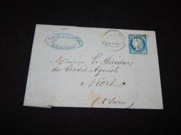 France 1874 Lucon Letter To Nord__(L-26311) - Frankreich