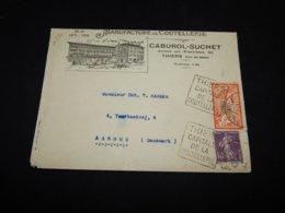 France 1920's Thiers Caburol-Suchet Business Cover__(L-26734) - Francia