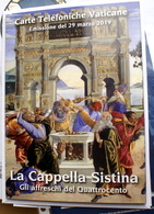 """VATICAN 2019, """"LA CAPPELLA SISTINA, GLI AFFRESCHI DEL 400"""" - Vatican"""