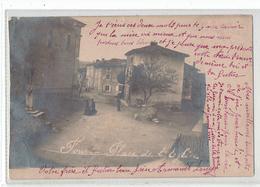 CP PHOTO - DPT 38 - FOUR - PLACE DE L'EGLISE - Other Municipalities