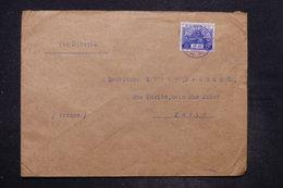JAPON - Affranchissement Plaisant Sur Enveloppe De Dairen ( Chine)  Pour Paris En 1935 Par Voie De Sibérie - L 26675 - 1926-89 Empereur Hirohito (Ere Showa)