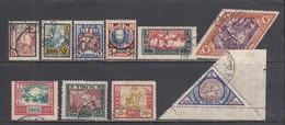 Tannu-Tuva 1927 - Freimarken, Mi-Nr. 15/28 (fehlt Mi-Nr. 16, 20, 22, 24), Used - Tuva