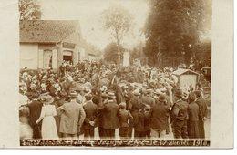 Buire-le-sec: Carte Photo De La Fête De Jeanne D'Arc? 1910 - France