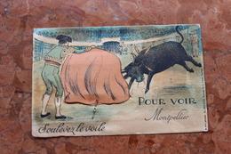 MONTPELLIER (34) - CARTE A SYSTEME - SOULEVEZ LE VOILE POUR VOIR - Montpellier