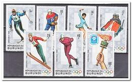 Bulgarije 1967, Postfris MNH, Olympic Winter Games - Burundi