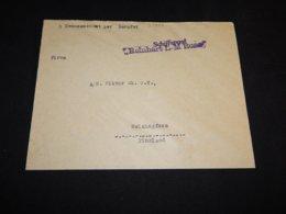 Germany 1930's? Schiffspost Reinhart L-M Russ Ship Mail Cover__(L-27258) - Deutschland