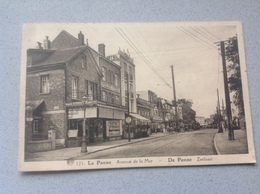 La Panne Avenue De La Mer - Cartes Postales