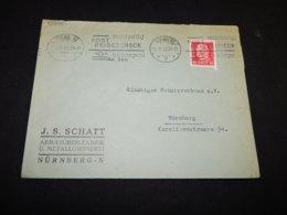 Germany 1933 Nurnberg J.S.Schatt Business Cover__(L-25975) - Allemagne