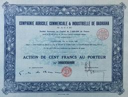 Compagnie Agricole Commerciale & Industrielle De BADIKAHA - Africa