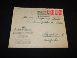 Germany 1936 Hersfeld Hermann Lietz Business Cover__(L-24544) - Germania