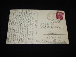 Germany 1937 Hamburg S/S Pretoria Ship Mail Card__(L-27061) - Briefe U. Dokumente