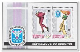 Burundi 1968, Postfris MNH, Olympic Winter Games - Burundi