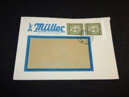 Germany 1943 Memmingen Muller Business Cover__(L-25952) - Storia Postale