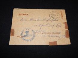 Germany 1944 Tarnowitz Feldpost Letter__(L-25562) - Allemagne