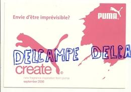 Publicité Pour Puma. Parfum - Vieux Papiers