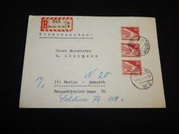 Germany Berlin 1957 Berlin Registered Cover__(L-26499) - [5] Berlino
